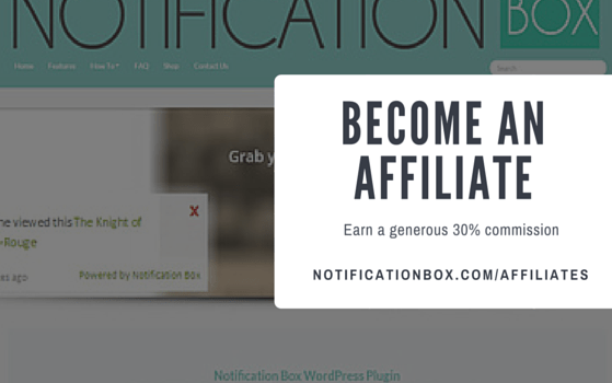 NOTIFICATION BOX AFFILIATE AVAILABLE