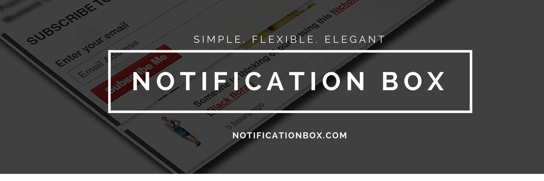 Notification Box Launch