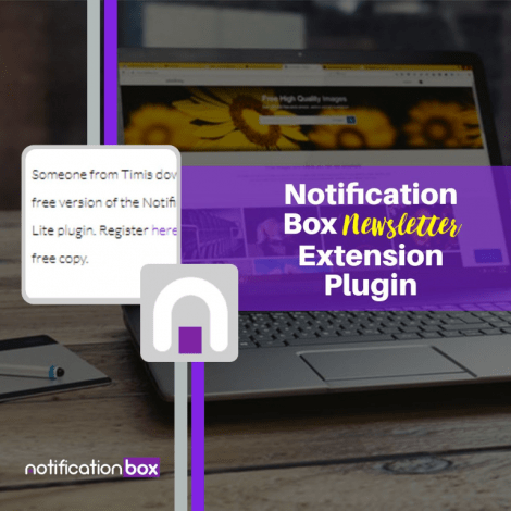 Notification Box Newsletter Plugin