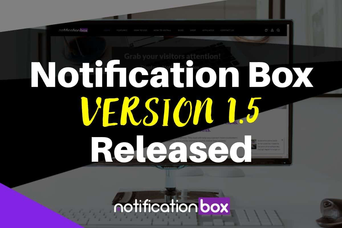 Notification Box - version 1.5
