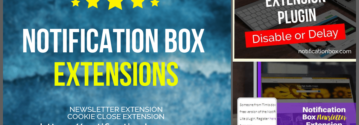 Notification Box Social Proof WordPress Plugin Extensions